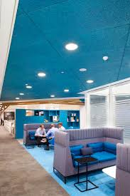 sagging tin ceiling tiles bathroom: heradesign acoustic ceiling panels were installed using a concealed