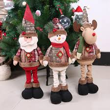<b>QIFU Telescopic Christmas Doll</b> Merry Christmas Decor for Home ...