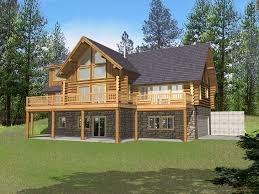 Amazing Log House Plans   Log Cabin Home Plans Designs        High Quality Log House Plans   Log Home Plans With Basement