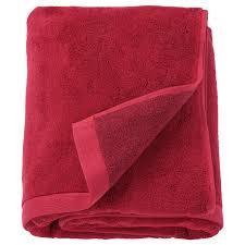 Простыня банная, темно-красный, меланж, 100x150 см <b>IKEA</b> ...