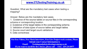 etl testing interview questions part etl testing online etl testing interview questions part 1 etl testing online training