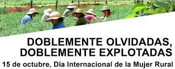 Resultat d'imatges de dia de la mujer rural
