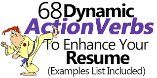 dynamic action verbs to enhance your resume  examples list      dynamic action verbs to enhance your resume  examples list included
