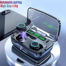 M11 Wireless Bluetooth Earphone V5.0 <b>TWS</b> Touch Control Stereo ...