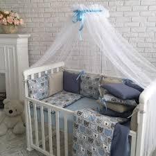 Baby Design Премиум Мишки мордашки Комплект детского ...