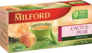 <b>Milford</b> Ягода опунции <b>зеленый чай</b> в пакетиках, 20 шт — купить в ...