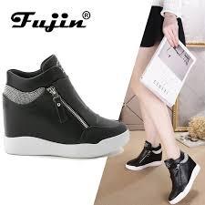 <b>Fujin 2019</b> Fashion Wedge <b>Women Footwear</b> Height Increasing ...