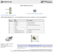 dmx wiring diagram dmx image wiring diagram dmx dmx512 rj 45 pinout diagram pinoutguide com on dmx wiring diagram