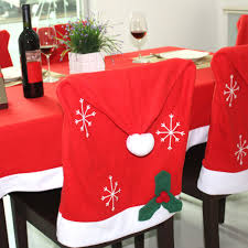 Home Decoration Material Popular Santa Chair Covers Buy Cheap Santa Chair Covers Lots From