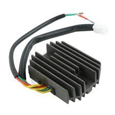 Brand New <b>Aluminum Voltage Rectifier Regulator</b> For Honda NX400 ...