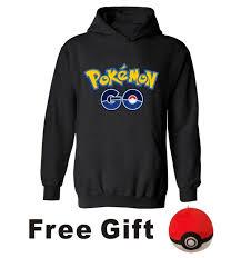 Click to Buy << New <b>Pokemon</b> Go Hooded Hoodies <b>Men</b> Brand ...