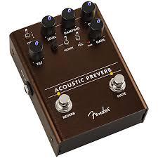 <b>Fender Acoustic</b> Preverb « <b>Педаль эффектов</b> для акустической ...