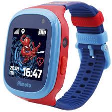 Детские умные <b>часы</b> Кнопка Жизни Aimoto <b>MARVEL</b> Человек-Паук