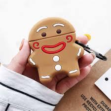 3D Cute <b>Christmas</b> Gift Gingerbread Man Caribou Silicone ...