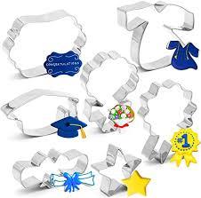 7PCS 2020 Graduation Cookie Cutter Set ... - Amazon.com