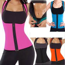 <b>Sexy Lady</b> Sweat Body Shaper Slimming <b>Vest</b> Thermo Neoprene ...