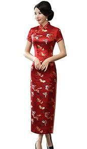 Buy Shanghai Story <b>Chinese Traditional Dress</b> Long Cheongsam ...