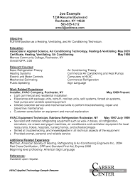 resumes hvac technicians cipanewsletter cover letter hvac technician sample resume sample resume of hvac