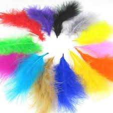 New Bloodfang Color <b>50pcs</b> Quality Natural Goose Feathers, <b>4</b> ...
