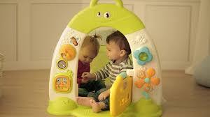 Детская <b>палатка</b>-<b>домик Smoby Cotoons развивающая</b> - YouTube