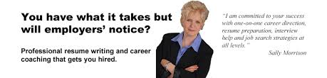 Resume Writing and Career Coaching   Sally Morrison   MorCareers   Chicago