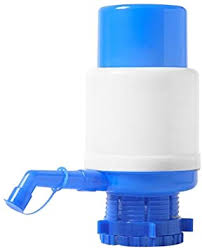 Portable Bottled Water Pump <b>Plastic</b> Manual <b>Hand Press</b> Drinking ...
