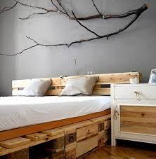 antique nature wood pallet bed antique unique pallet ideas