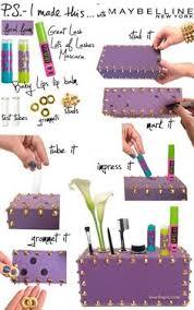 diy cosmetic organizer cute makeup cool awesome diy craft idea crafts easy crafts crafts ideas diy awesome diy makeup