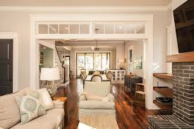 Architecture  Fascinating Open Floor Plans For Your New Home Ideas    Best Cream Fabric Living Sofa   Small Dining Areas and Modern Furnishing Decors as Contemporary Interior