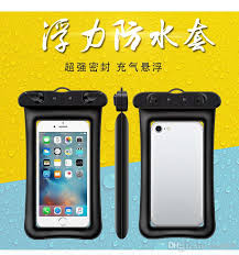 Floating Airbag Inflatable Mobile Phone Waterproof Bag New <b>Touch</b> ...