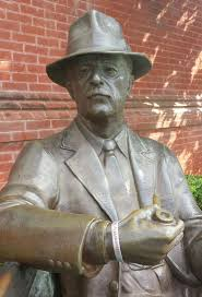 best images about william faulkner family william faulkner statue in oxford mississippi