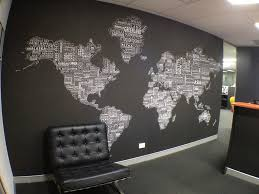 decorating world map wall decor for modern office design with office wall decor appealing office wall decor appealing decorating office decoration