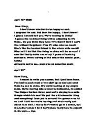 dear diary   gcse english   marked by teacherscom page  zoom in