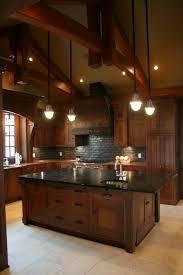 gorgeous kitchen beautiful dark wood