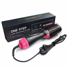 <b>Electric Pro Hair Dryer</b> Comb Multifunctional Infrared Negative Ion ...