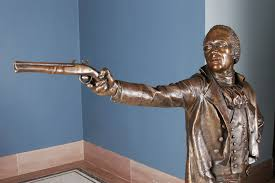 understanding the burr hamilton duel the gilder lehrman alexander hamilton bronze sculpture by kim crowley 2004