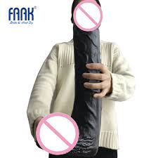 FAAK 42*8cm super <b>huge dildo with suction</b> cup for female G spot ...