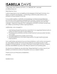 bookkeeper cover letter sample perfect cover letter examples