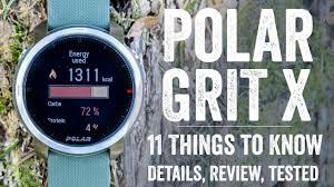 Обзор <b>Polar Grit X</b>: самые прочные и живучие спортивные <b>часы</b> ...