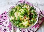 Салат из копченой колбасы и свежего огурца