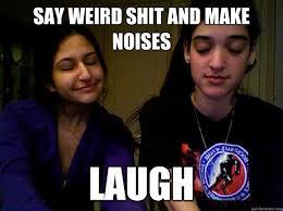 WEIRD FRIENDS MEME memes | quickmeme via Relatably.com