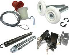 Image result for garage door parts