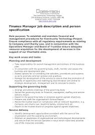 financial advisor job description portfolio analyst job financial advisor job description best photos management intern job description business finance manager job description