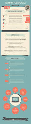best ideas about cool resumes cv design infographic my visual resume tommy pesavento