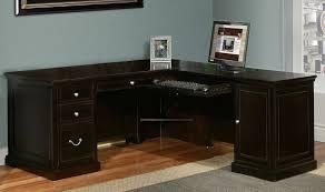 corner office desk shaped modern l shaped computer desk brilliant corner office desk
