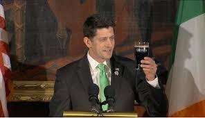 Resultado de imagen para Paul Ryan en san patricio