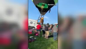 Hot Air Balloon Crash Landing