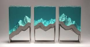 <b>Handmade Glass Sculptures</b> Capture the Beauty of the Ocean