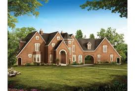 Eplans French Country House Plan   Modern Day Camelot      Front