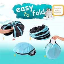 <b>Cat Tunnel</b> Toy <b>5 Way</b>, <b>Collapsible Pet</b> Play <b>Tunnel</b> Tube with ...
